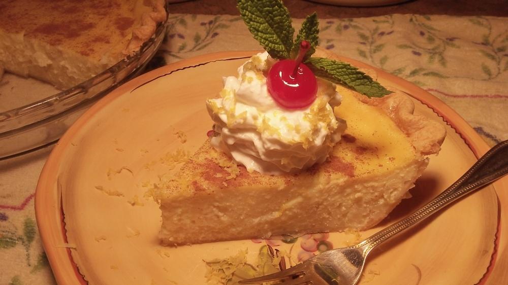 Ricotta Pie Best