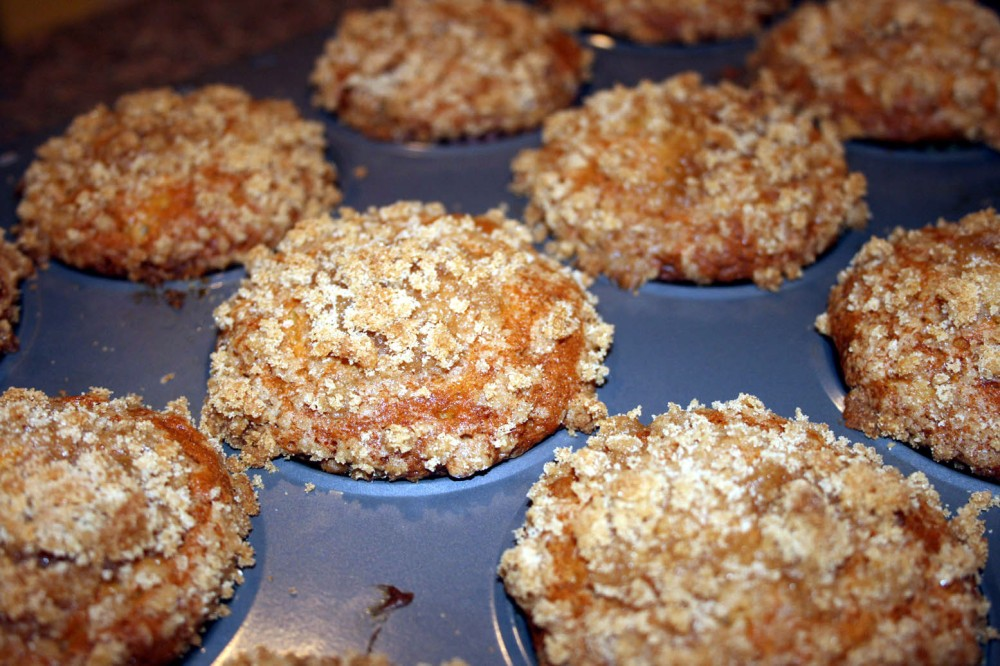 Banana Crumb Muffins 3