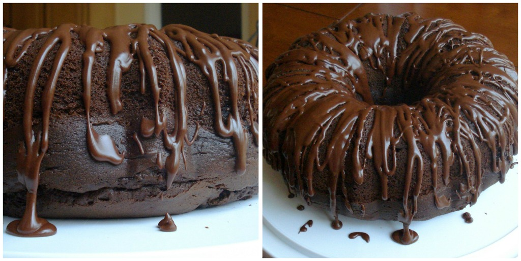 Rickys Blue Ribbon Double Chocolate Bundt Cake Once Upon