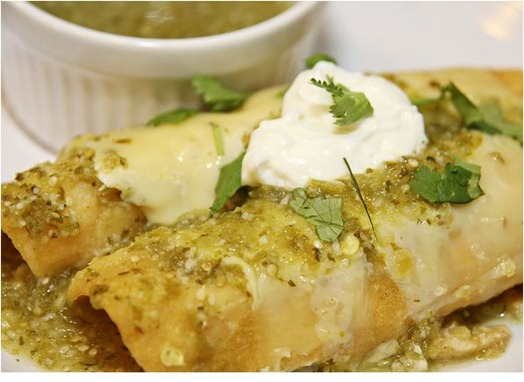 turkey-enchiladas-verde