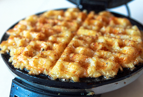 waffle hashrowns