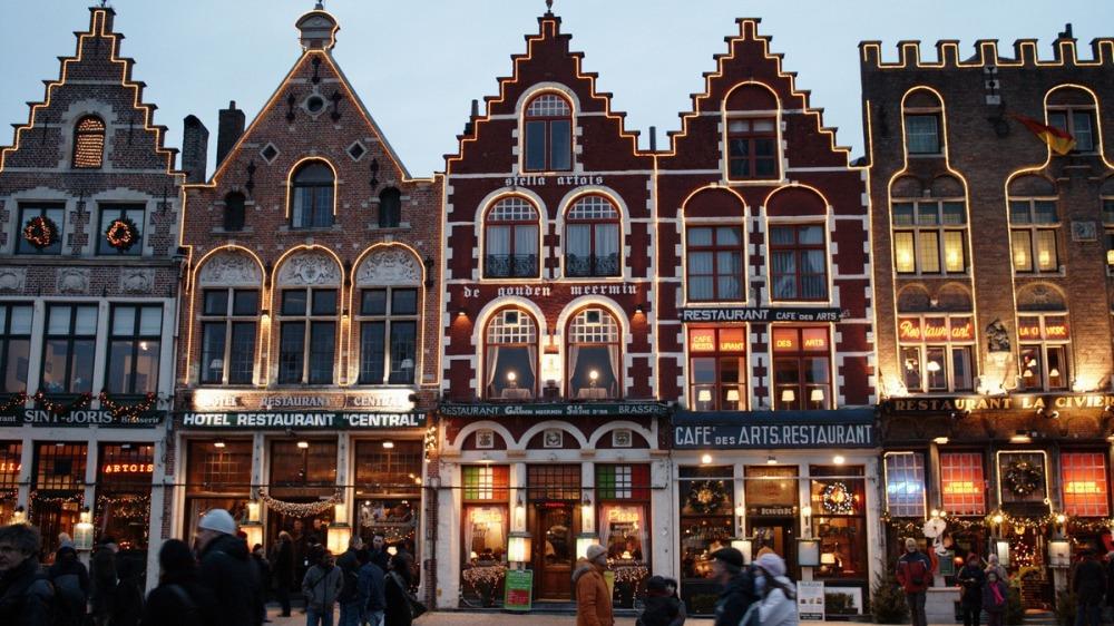 Bruges's Christmas Market Belgium PSmashables