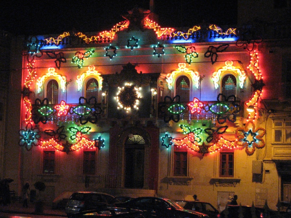 Malta street decorations PS excelsior
