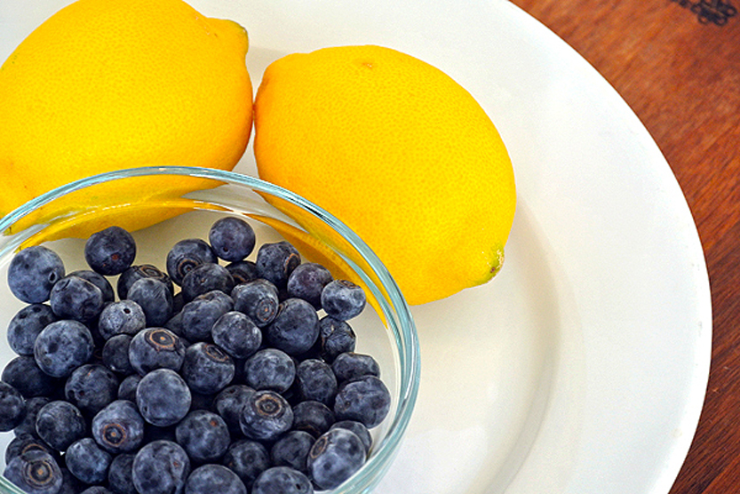 lemons-blueberries