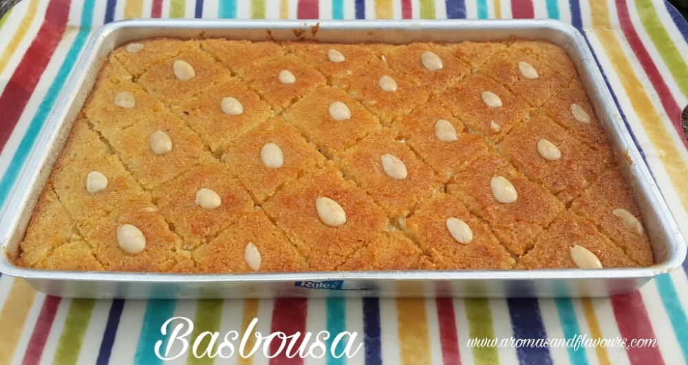 Traditional middle eastern Dessert made with semolina