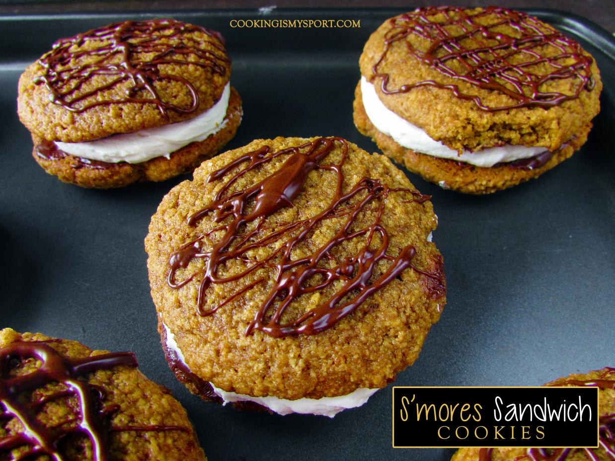 S'mores Sandwich Cookies2