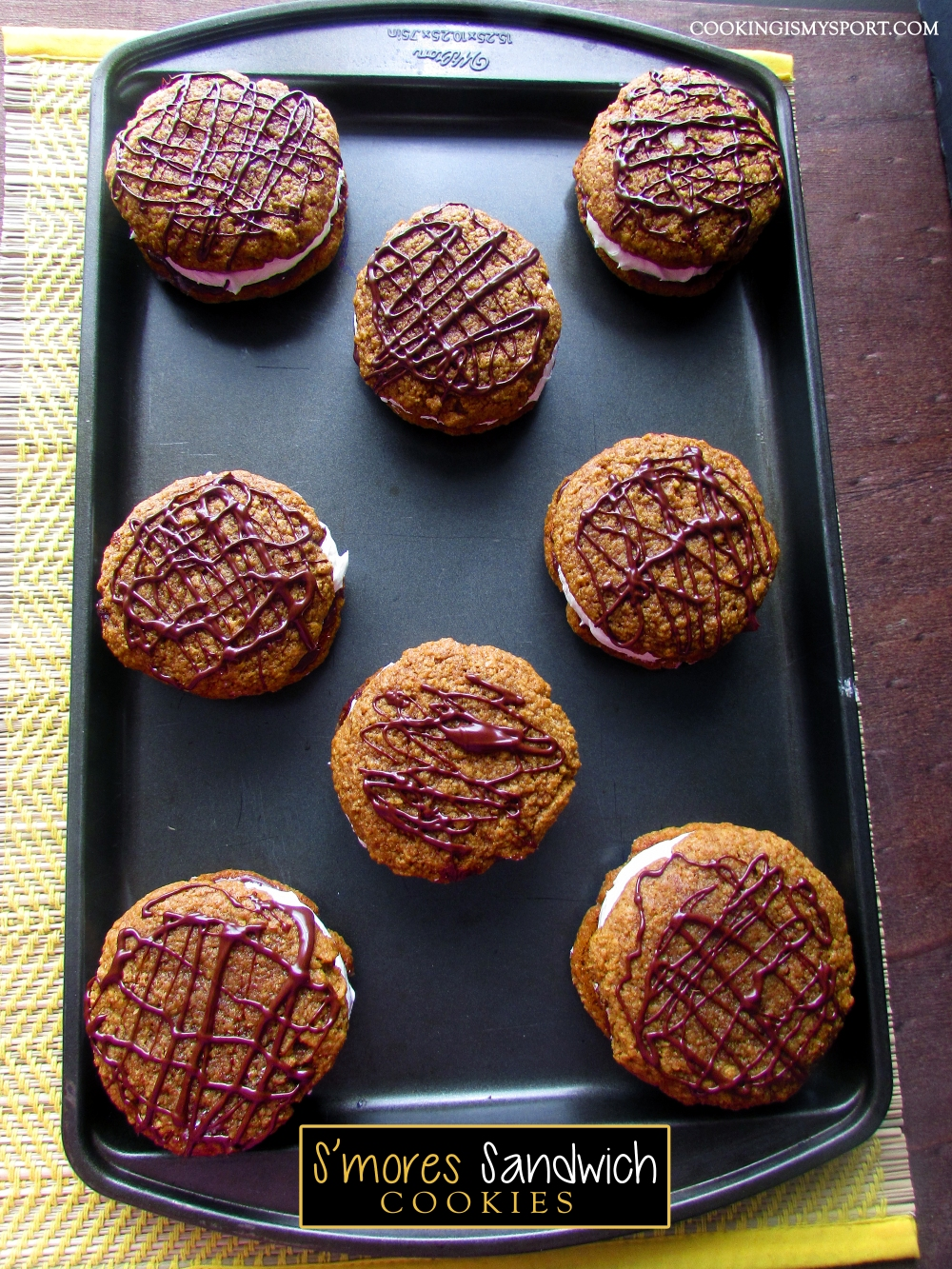 S'mores Sandwich Cookies4