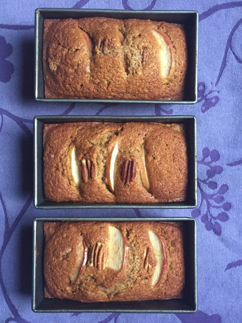 3 mini loaves